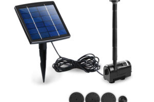 Solar Powered Submersible Fountain Pump 200L/H