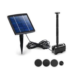 Solar Powered Submersible Fountain Pump 200L/H