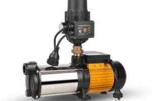4 Stage High Pressure Garden Farm Irrigation Water Pump 7,200L/H 2000W Black