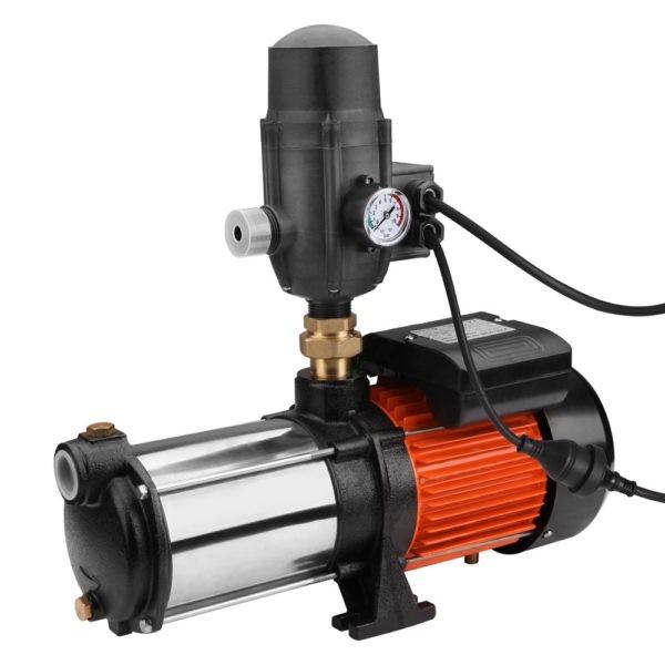 Multi Stage High Pressure Garden Farm Rain Tank Irrigation Water Pump 1800W – Black
