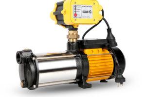 5 Stage High Pressure Garden Farm Irrigation Water Pump 9,000L/H 2500W Yellow