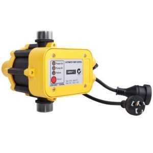 Automatic Electronic Water Pump Pressure Controller – Yellow