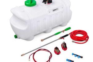 ATV Garden Weed Sprayer Pump 100L 12V 80PSI with 3 Nozzles