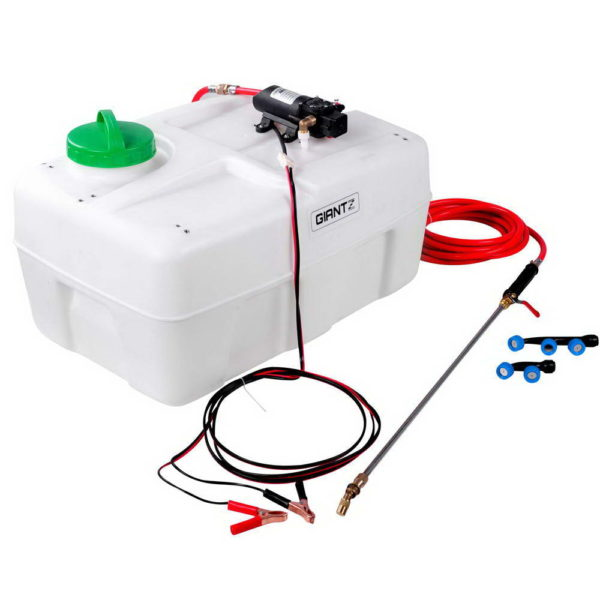 ATV Garden Weed Sprayer Pump Spot 50L 12V 80PSI with 3 Nozzles