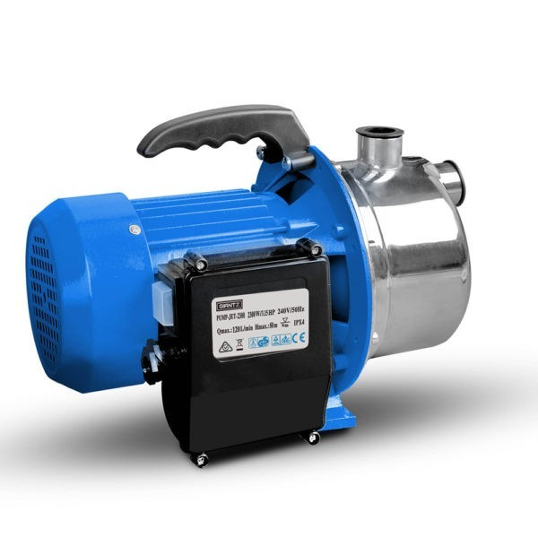 Stainless Steel High Pressure Jet Water Pump 7,200/L 2300W