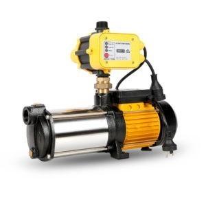 4 Stage High Pressure Garden Farm Irrigation Water Pump 7,200L/H 2000W Yellow