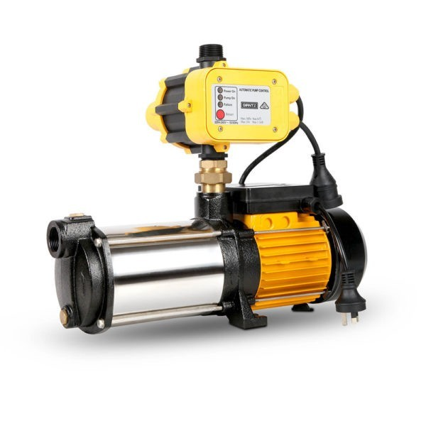 4 Stage High Pressure Garden Farm Irrigation Water Pump 7,200L/H 2000W Yellow