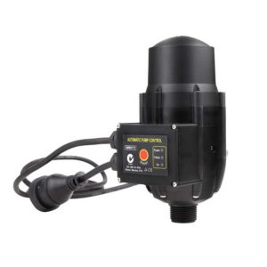 Adjustable Automatic Electronic Water Pump Pressure Controller – Black