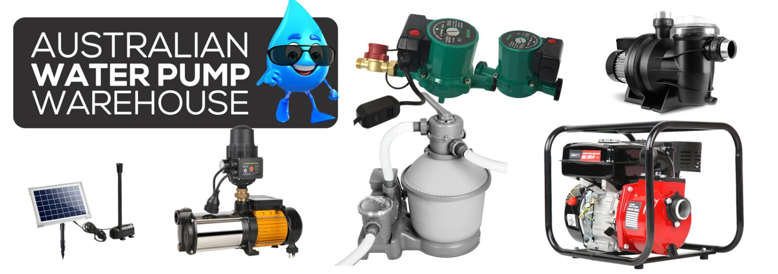 Aust Water Pump Warehouse Range