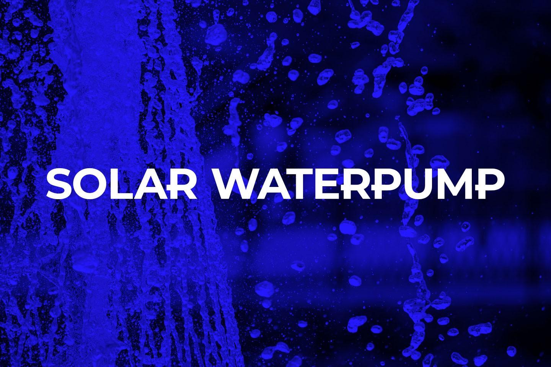 solar waterpump
